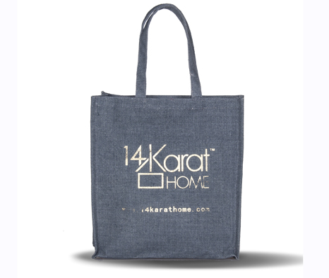 Letter Printing Canvas Tote Bag Shopping Bag